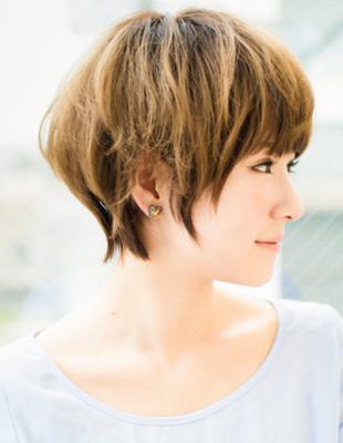 横顔もきれいなショート(YG-521)