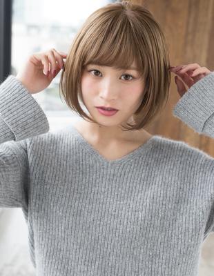 年齢問わず小顔ショートボブ(KY-185)