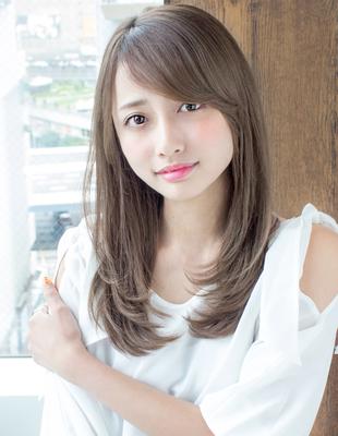 大人かわいい小顔ロング(AS-143)