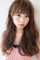 前髪あり色っぽモテパーマ☆