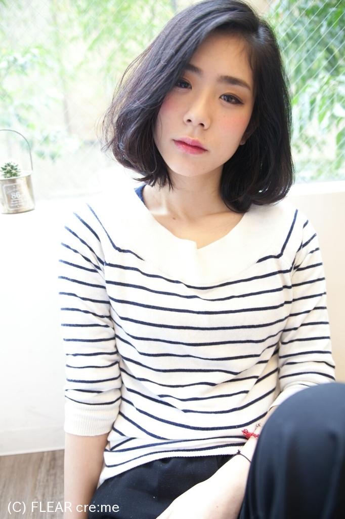 【新感覚★ダメージレス弱酸性パーマ】リラックスロブ