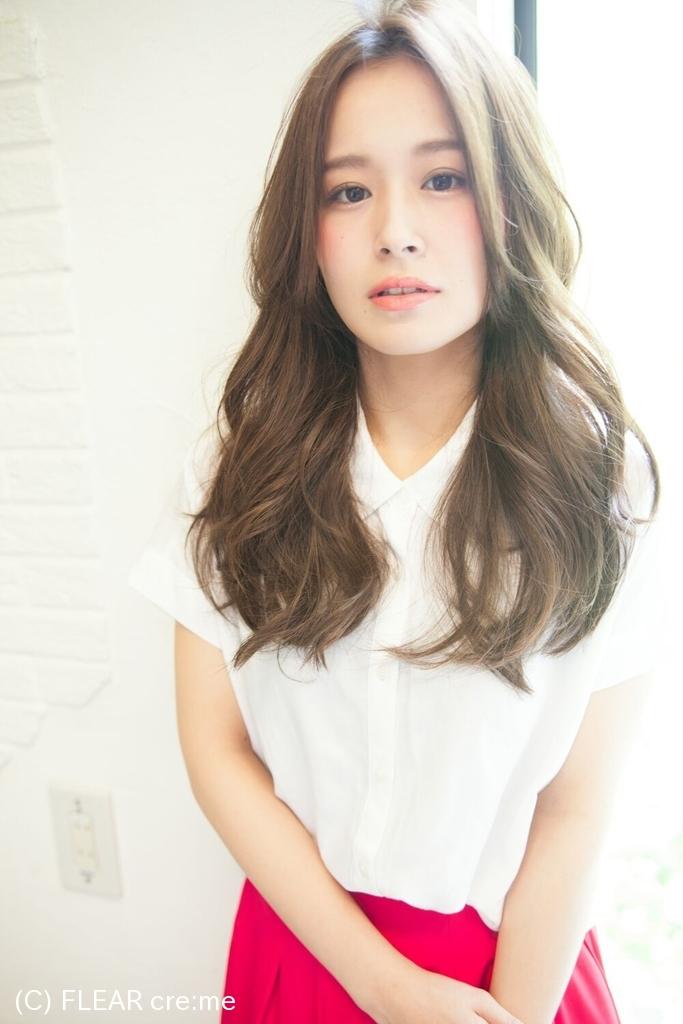 【滝沢眞規子さん風髪型】ホリスティックパーマでツヤ髪に★