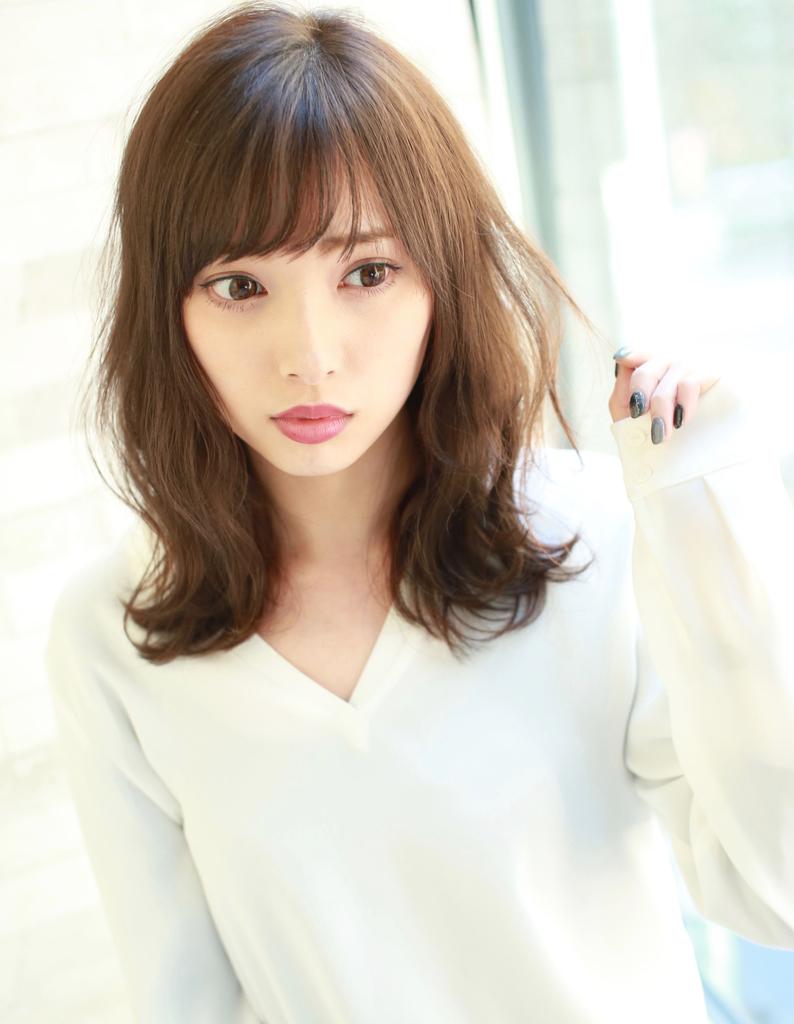 女子力アップ巻き髪風パーマ(TM,35)