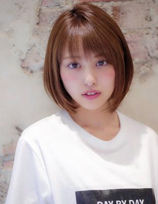 カジュアル小顔ショートスタイル(Ss-393)