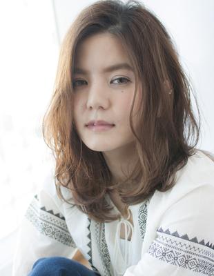 ルヴア新宿☆HIROSHI☆大人かわいいミディアム(HS217)