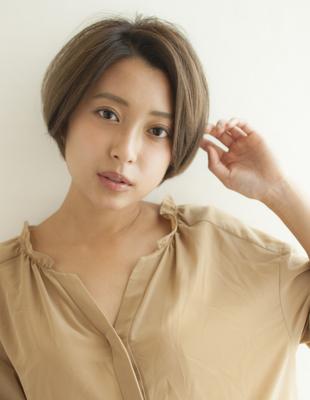 ルヴア新宿☆HIROSHI☆簡単スタイリング!大人かわいいショート(HS225)