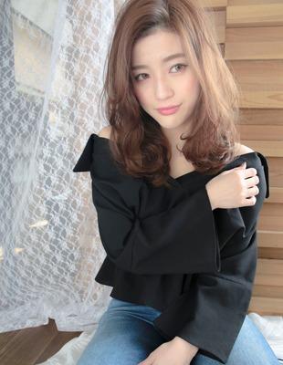大人可愛い透ける重めヘア(MG-154)