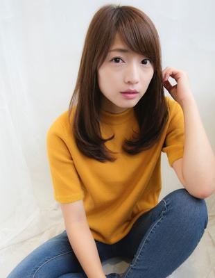 大人かわいいセミロング(AY-009)