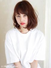 【担当 添田】ミックスカールの大人ロブ 束感の簡単スタイリングs-372