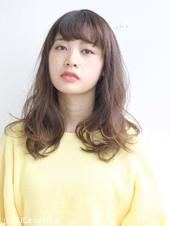 抜け感カジュアルヘアースタイル AKI-109