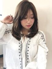 大人の内巻きフェミニンレイヤー【k62】