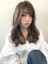 軽やかフェミニンカジュアル大人ゆるふわヘア【k66】
