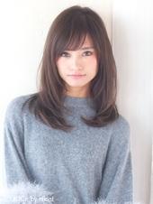 愛され内巻きヘア チョコレートグレージュA462