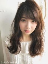 春ゆるミックスパーマ 顔まわり小顔カットA635