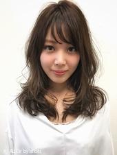 フェミニンパーマのひし形小顔モテ髪ヘアー☆