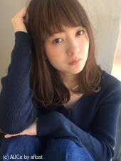 ワンカール ツヤボブ 前髪あり【y−307】