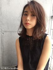 かきあげ大人♡夏髪パーマボブ【y−329】