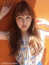 夏はパーマ♡アプリコットカラー【y−351】