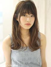 外国人風ハイライトカラー♡ニュアンスウェーブ M-23