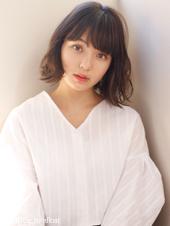 エアリーなミックスパーマ♡外ハネカジュアルヘア M-135