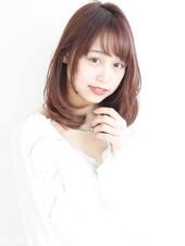 簡単セット 大きめワンカールパーマ♡ツヤ髪ミディ M-141