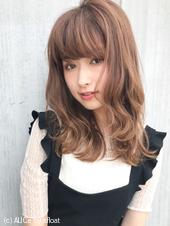 大きめミックスパーマでゆるフェミニン♡小顔ヘア M-175