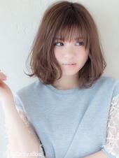 ひし形ミディ【ラベンダーアッシュ】U-13