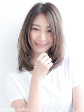大人かわいいワンカールミディ【イノセントグレージュ】U-16