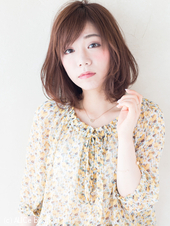 春の柔らかミディ【ラベンダーベージュ】U-26