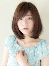 大人フレンチボブ【シナモンブルージュ】U-28