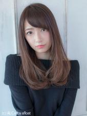 重め艶髪ワンカール【アッシュグレージュ】U-136