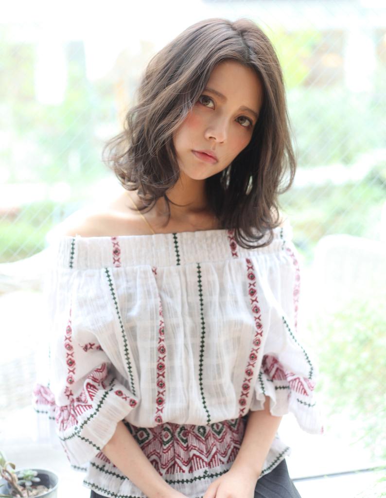 【Violet】ミルクティーカラー×フェミニンルーズウェーブ☆