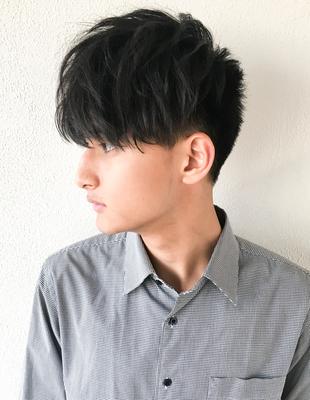 メンズ 刈り上げショート 髪型(NY-48)