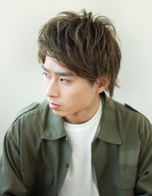 メンズビジネス◎好感度束感◎髪型(NY-68)