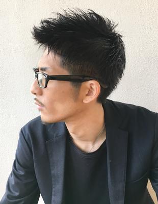 メンズ30代◎メガネが似合う髪型(NY-69)