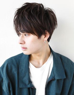 メンズミディアム束感◎髪型(NY-74)