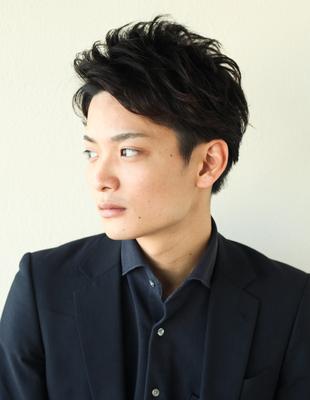 メンズビジネス30代ショート◎髪型(NY-91)