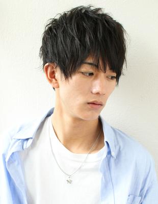 メンズ好感度ショート◎髪型(NY-98)