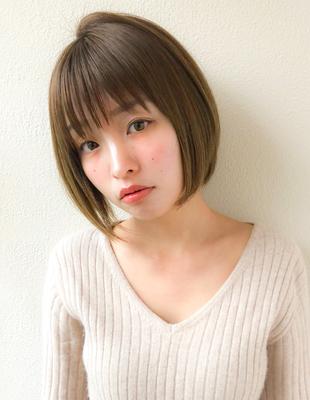 大人かわいい小顔ショートボブ(SH−45)