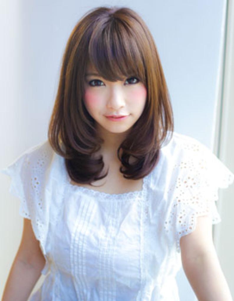ナチュラル可愛いセミロング(yr-207)   ヘアカタログ・髪型・ヘア