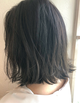 色濃く透けるヘアカラー(HR-406)