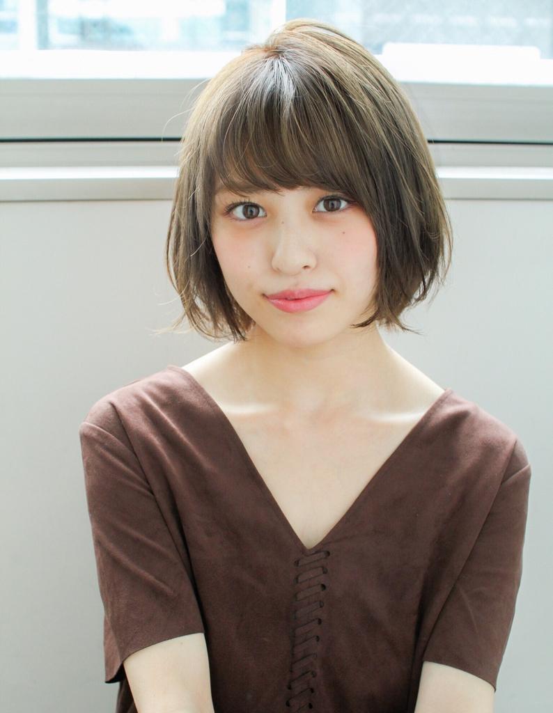 大人可かわいい小顔ショートボブ(sy-372) | ヘアカタログ・髪型