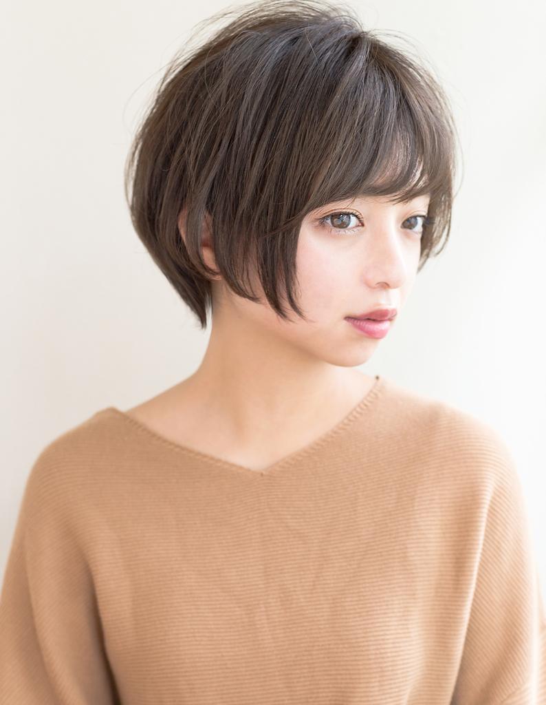 小顔ショートボブ(IT-126) | ヘアカタログ・髪型 ...