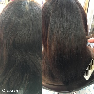 髪質改善酸性ストレートパーマ