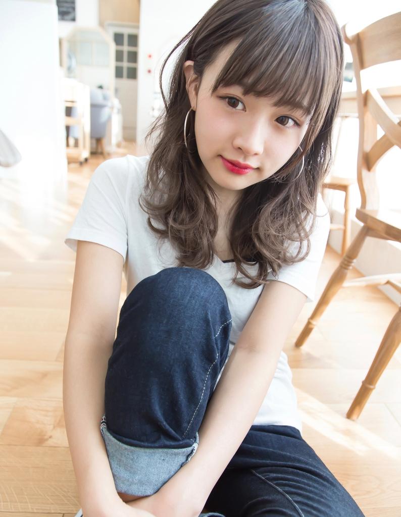 【Violet 村瀬】透ける♪柔らかさ☆カジュアルミディ