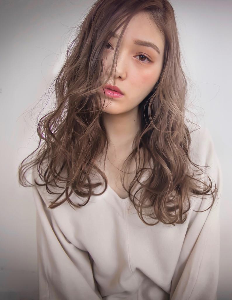【Violet栄店】外国人みたいな髪色♪セピアグレージュ