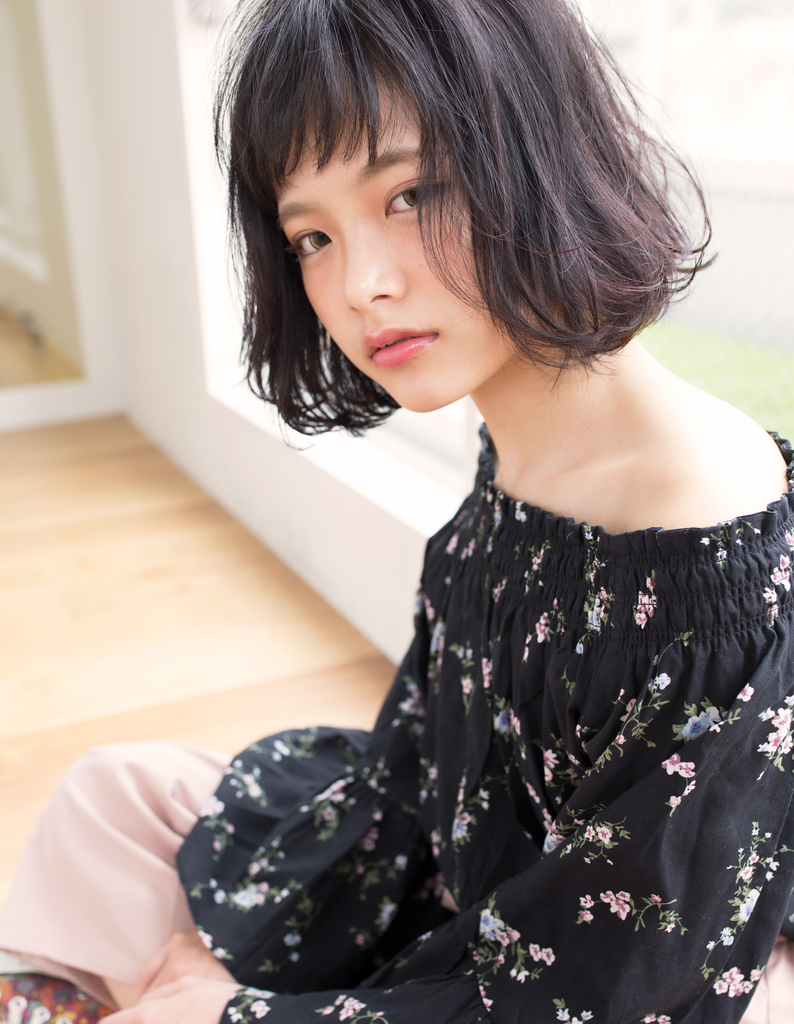 【Violet三好】カジュアルアゴラインボブ