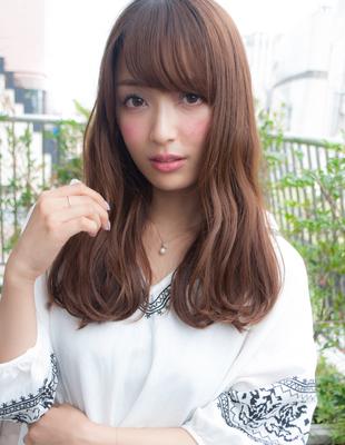 前髪可愛いゆるふわウェーブ(yo-46)