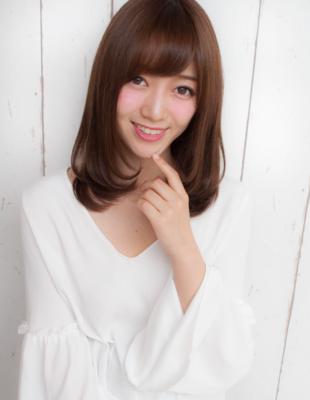 前髪可愛いストレート(yo-47)