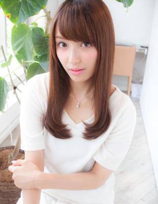 前髪可愛いストレート(yo-49)